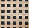Square Hole 8mm Oak Veneered MDF Decorative Screening Panel 1800mm x 600mm x 4mm